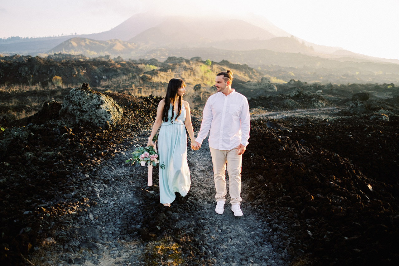 J&R: Bali Mountain and Beach Honeymoon Session Captured by Team 6