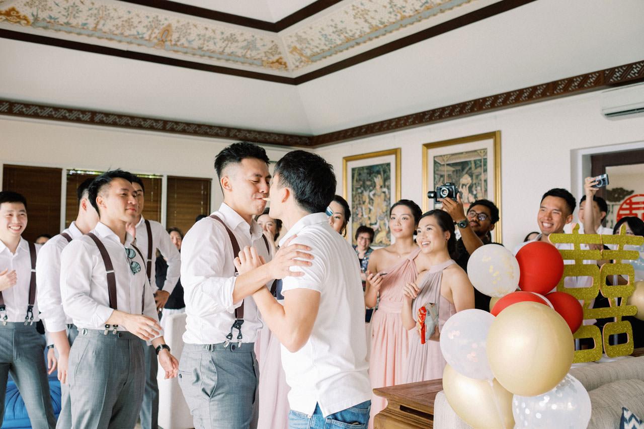 Uluwatu Cliff Wedding with Chinese Wedding Ceremony 5