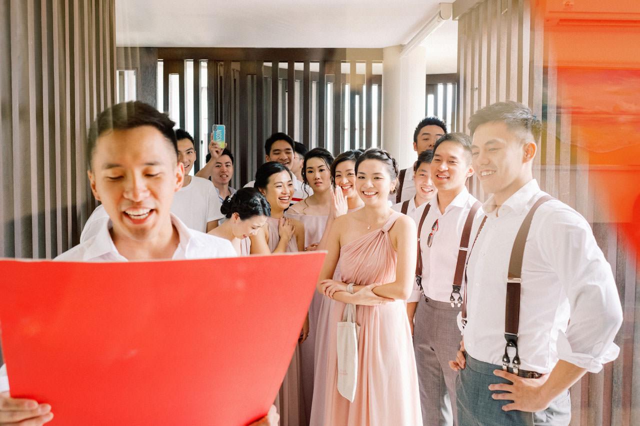 Uluwatu Cliff Wedding with Chinese Wedding Ceremony 6