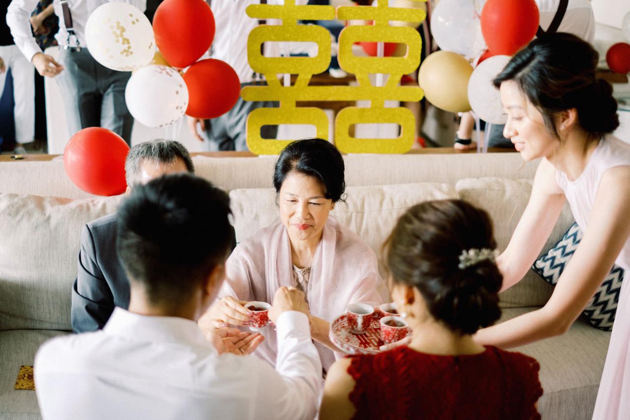 Uluwatu Cliff Wedding with Chinese Wedding Ceremony 9