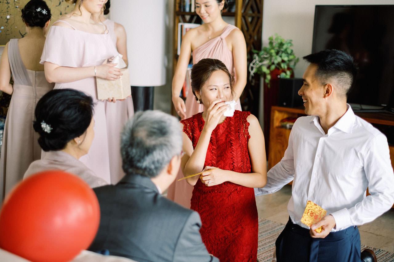 Uluwatu Cliff Wedding with Chinese Wedding Ceremony 10