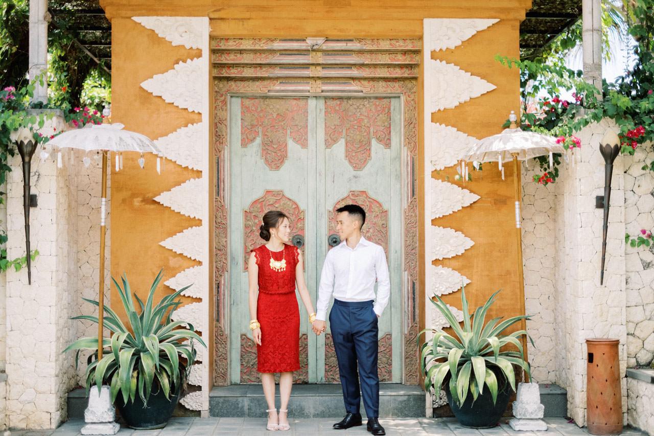 Uluwatu Cliff Wedding with Chinese Wedding Ceremony 12