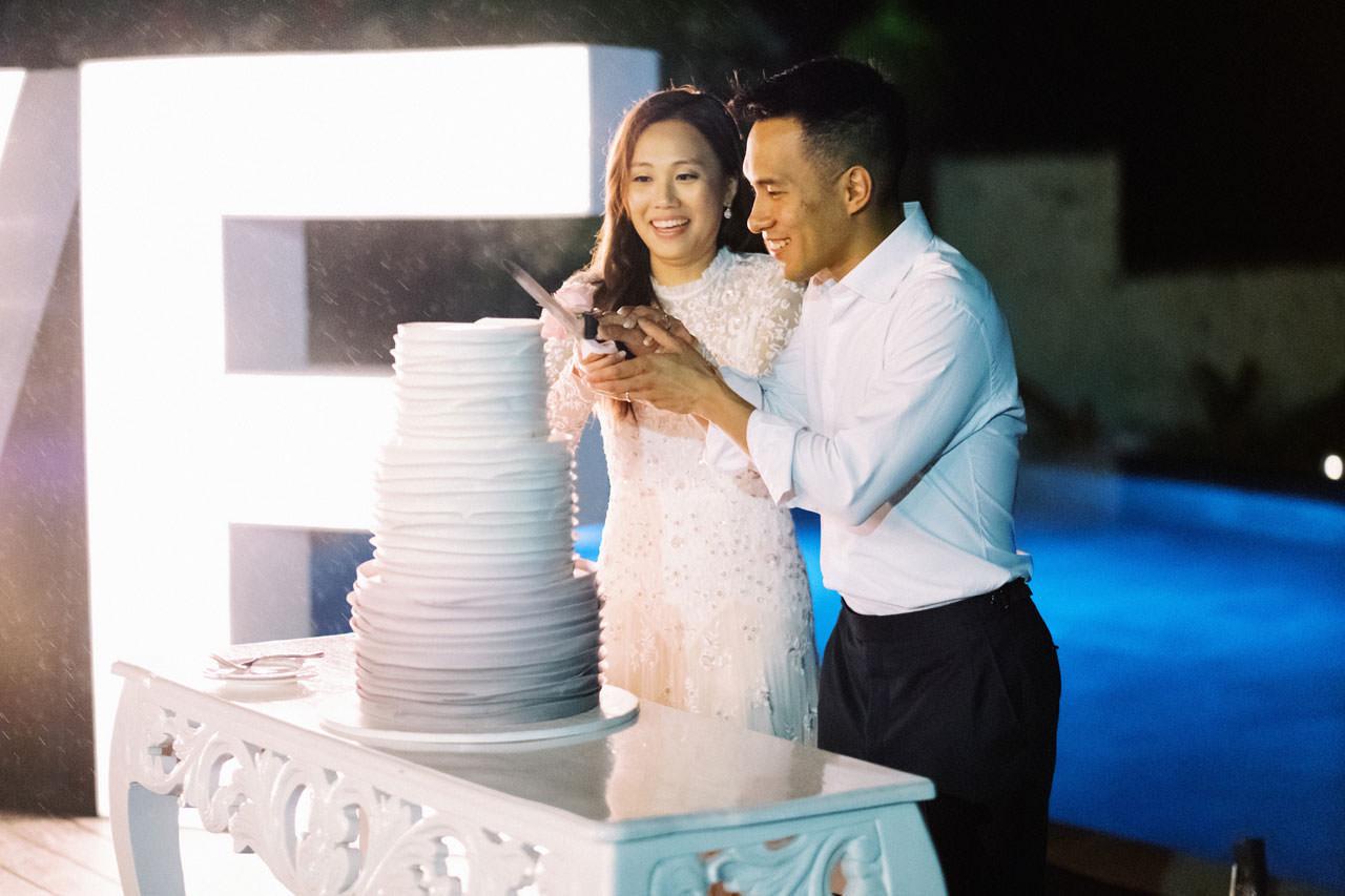 Uluwatu Cliff Wedding with Chinese Wedding Ceremony 41