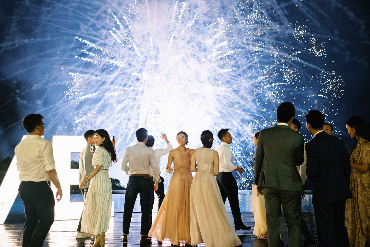 Uluwatu Cliff Wedding with Chinese Wedding Ceremony 45