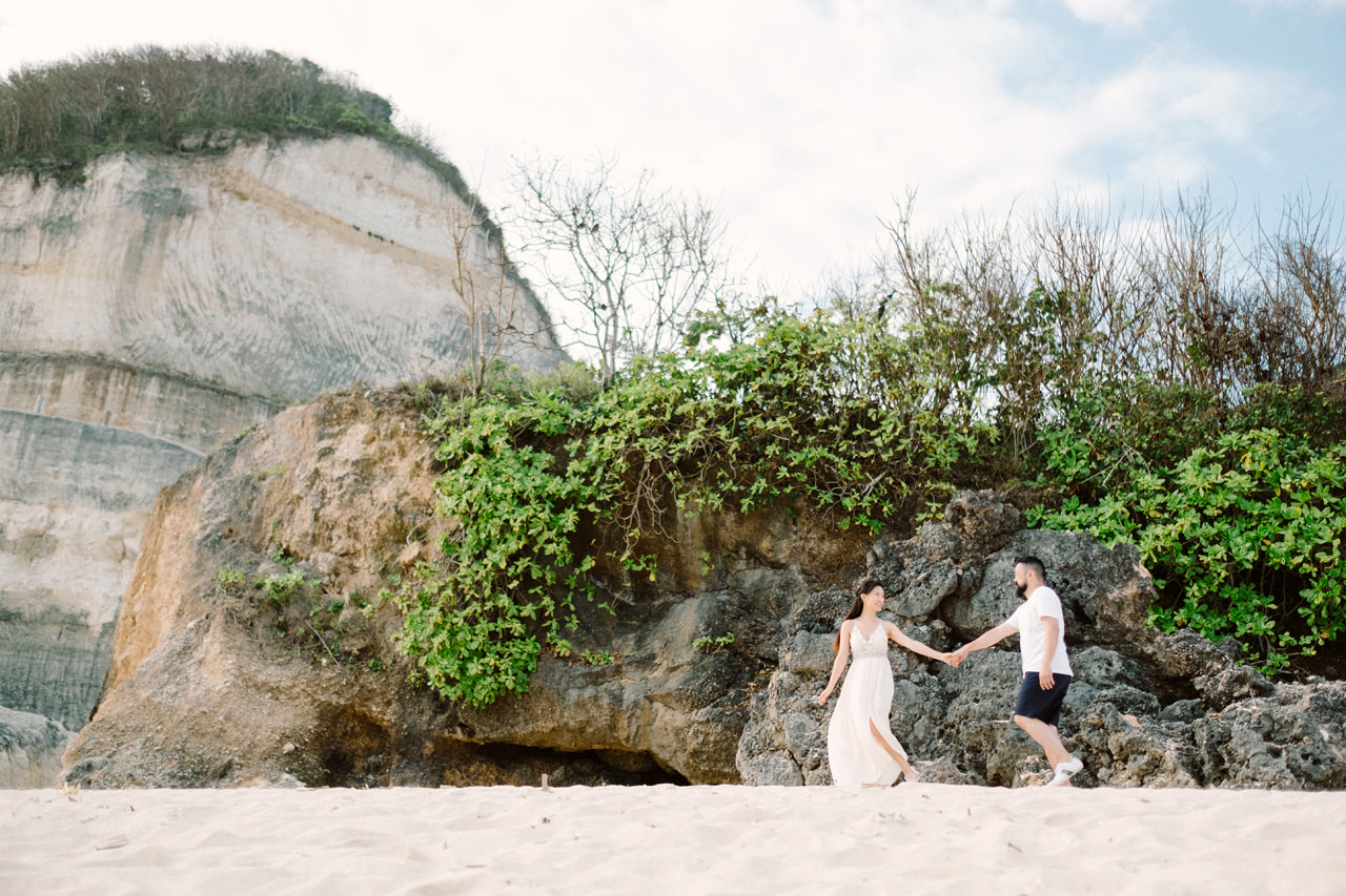 J&M: Capturing The Beauty of Bali in an Bali Casual Prewedding Session 2