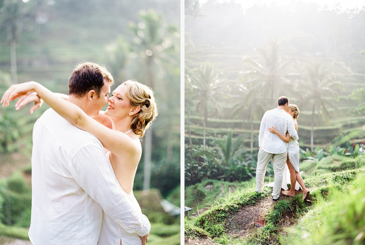 K&M: Under the Volcano Bali Honeymoon Photo Session 2