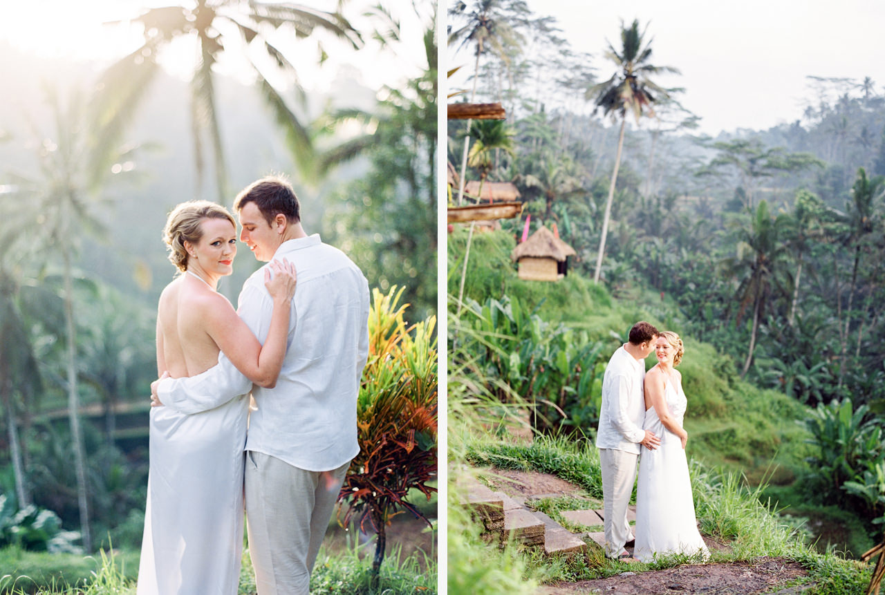 K&M: Under the Volcano Bali Honeymoon Photo Session 3