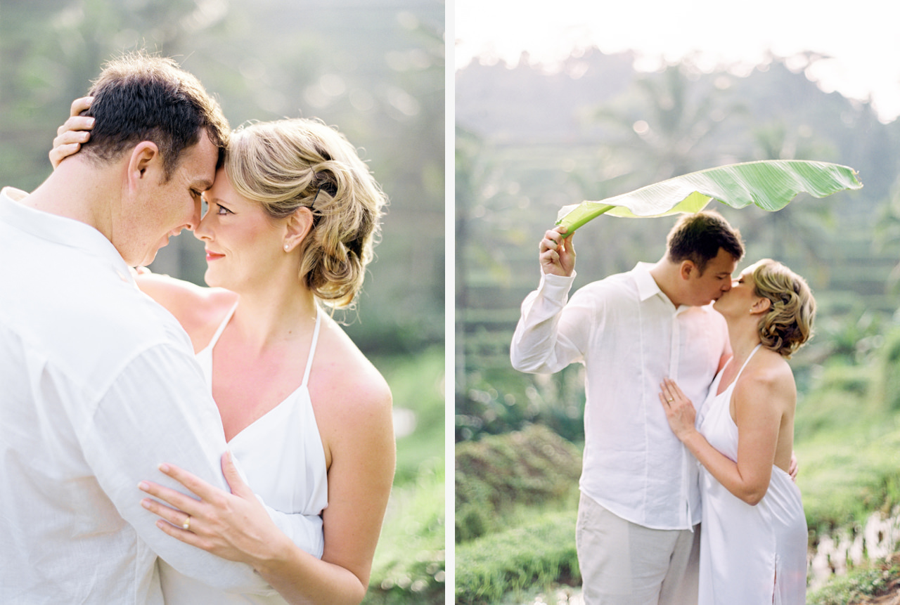 K&M: Under the Volcano Bali Honeymoon Photo Session 4