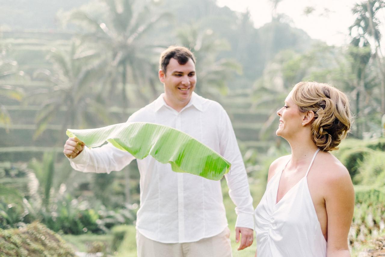 K&M: Under the Volcano Bali Honeymoon Photo Session 6