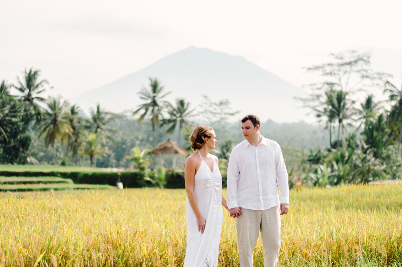 K&M: Under the Volcano Bali Honeymoon Photo Session 7
