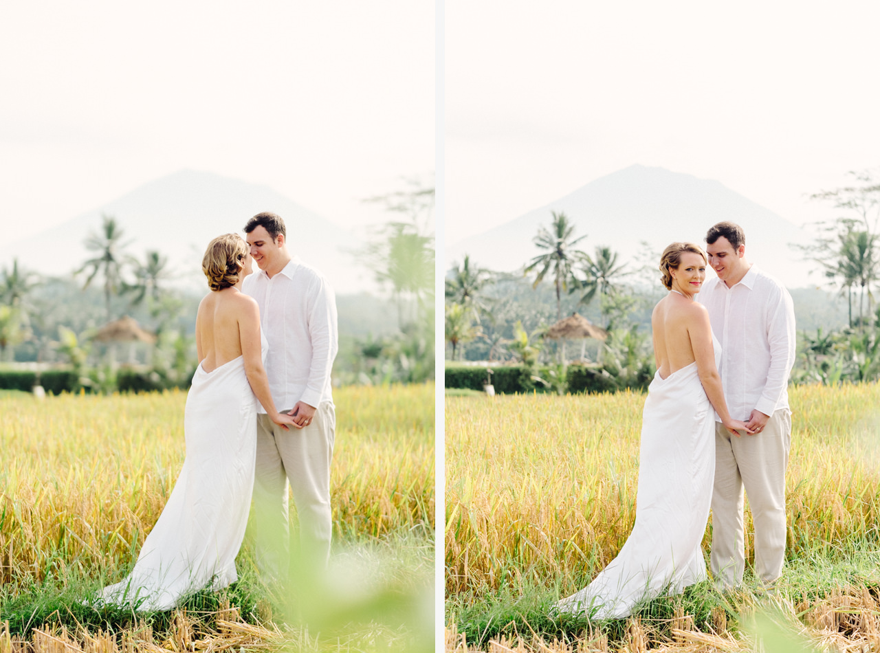 K&M: Under the Volcano Bali Honeymoon Photo Session 8