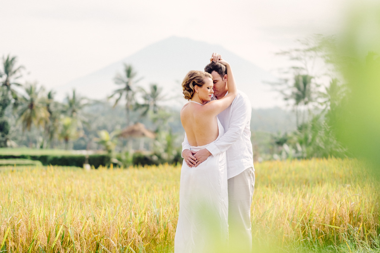 K&M: Under the Volcano Bali Honeymoon Photo Session 9