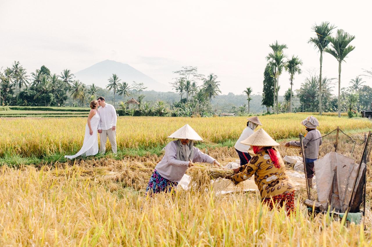 K&M: Under the Volcano Bali Honeymoon Photo Session 10