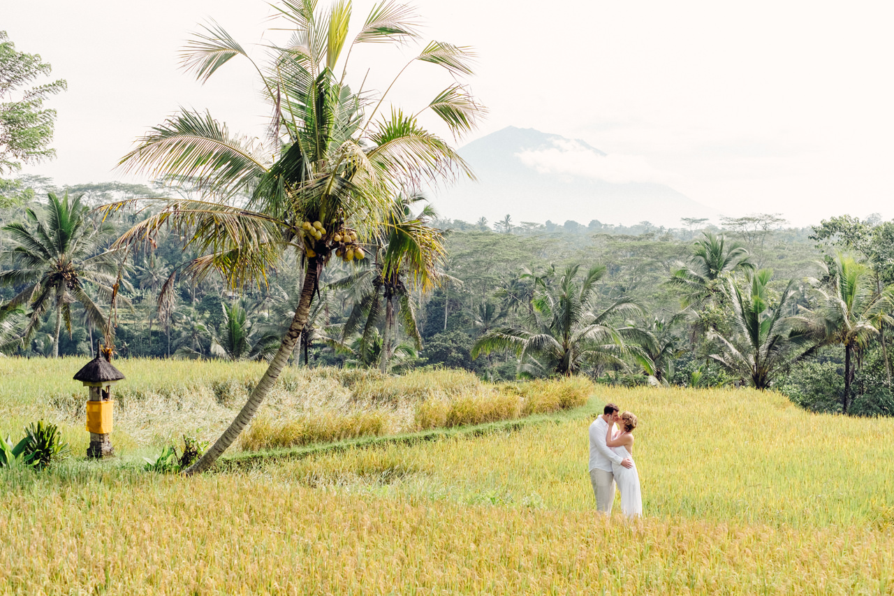 K&M: Under the Volcano Bali Honeymoon Photo Session 11