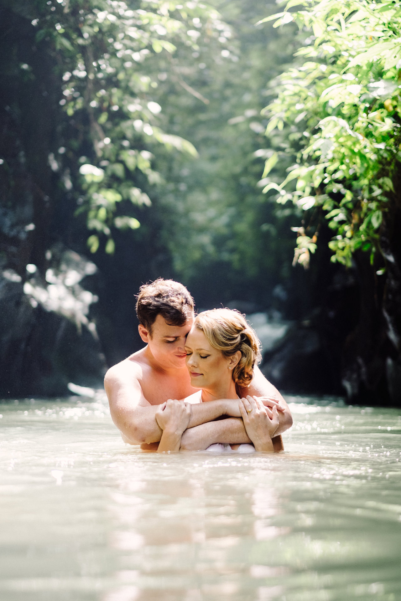 K&M: Under the Volcano Bali Honeymoon Photo Session 13