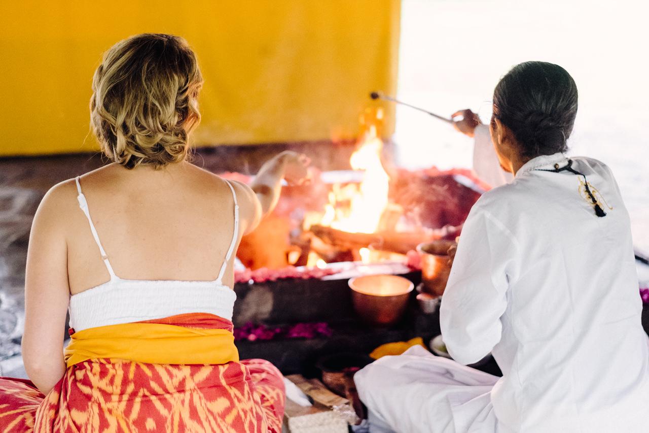 K&M: Under the Volcano Bali Honeymoon Photo Session 18