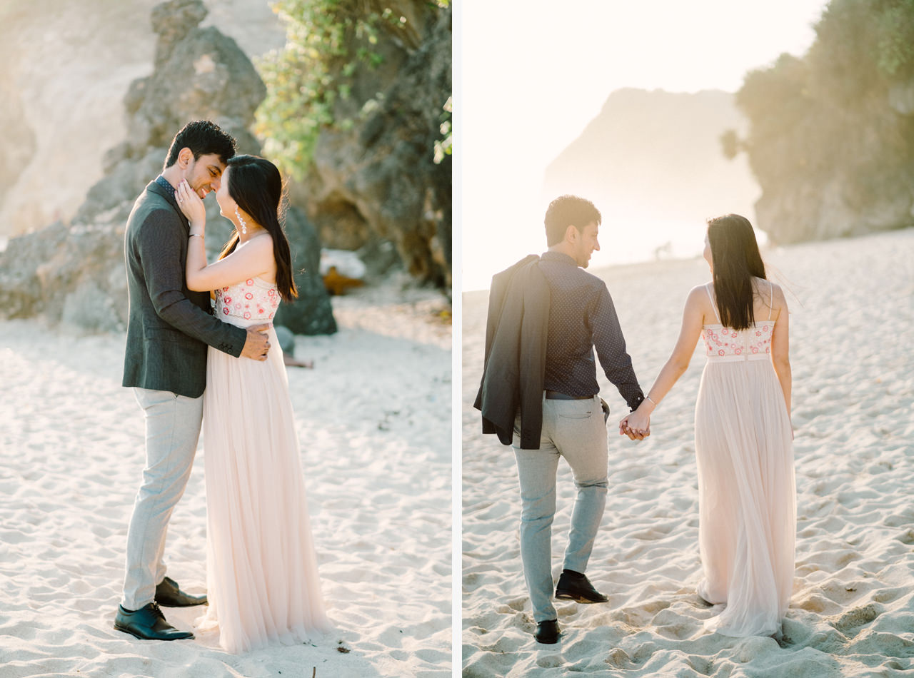 C&K: Before Sunset Bali Engagement Photoshoot 5