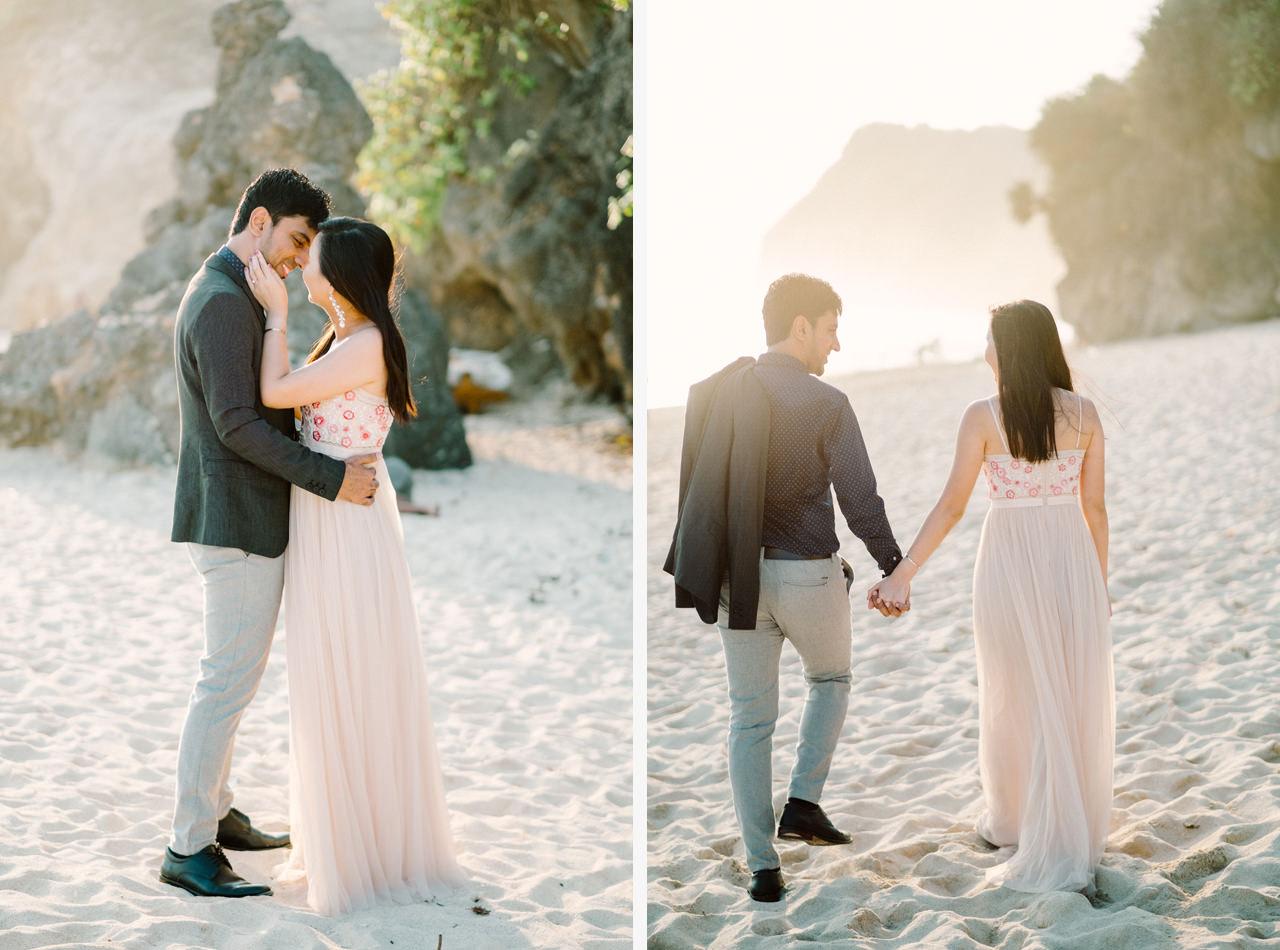 C&K: Before Sunset Bali Engagement Photoshoot 5