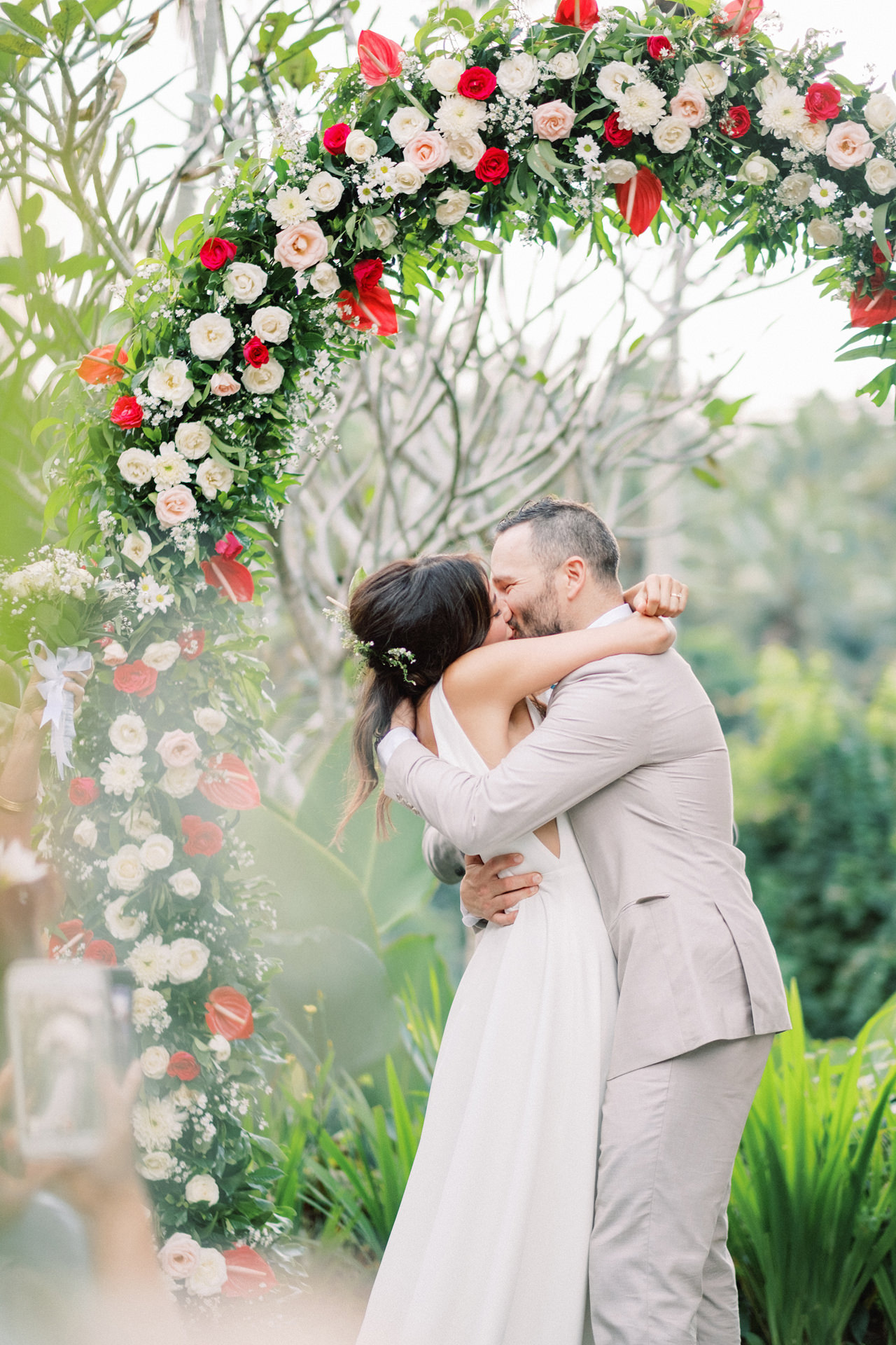 K&R: Greeneries Ubud Wedding - Ubud Wedding Photographer 35