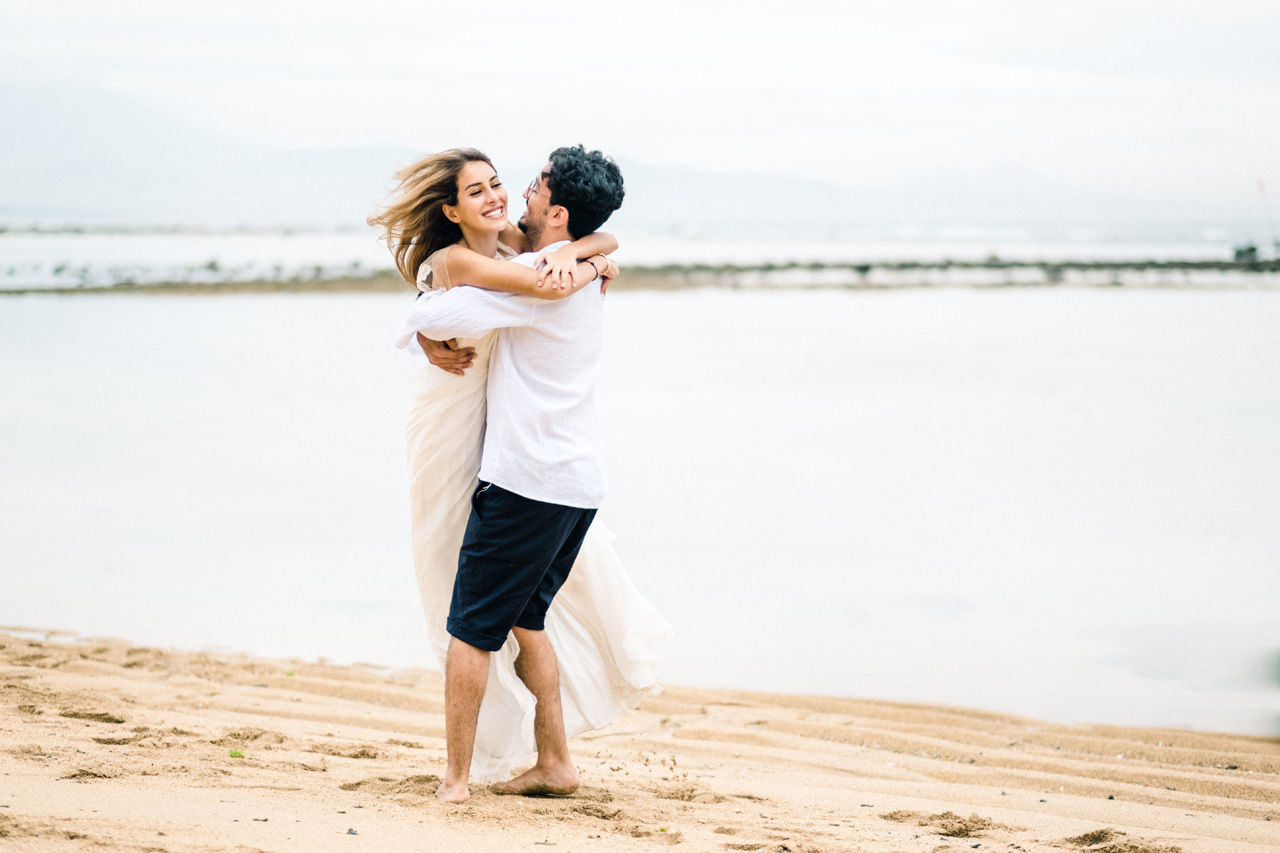 K&I: Honeymoon Photoshoot in Sanur 8