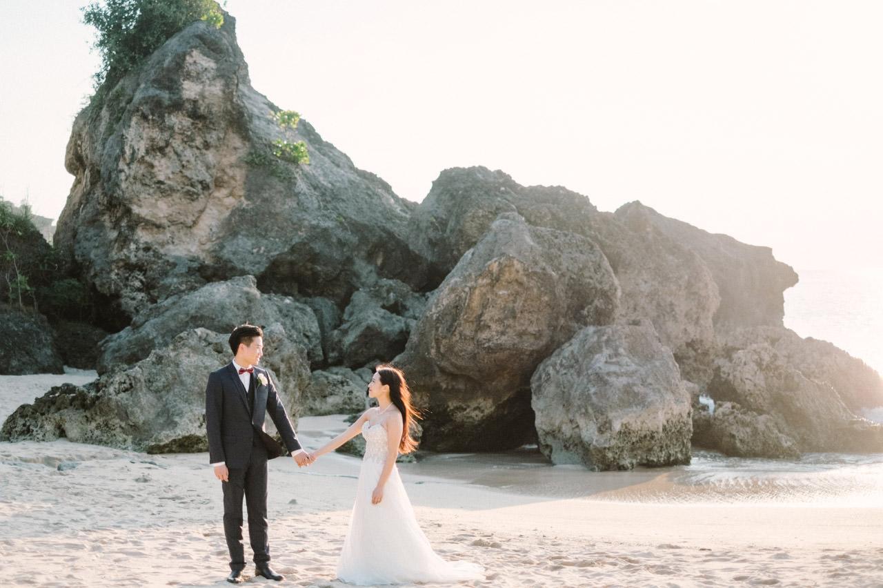 Kimberly & Jerry: Intimate Bali Wedding Photography at Ayana Resort 41