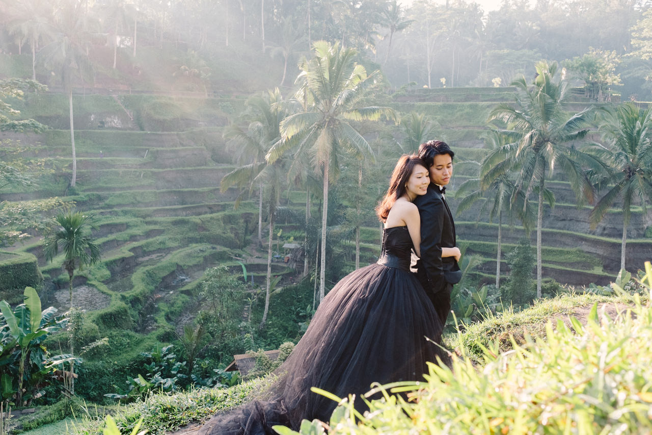 An Elegant Ubud Post Wedding Photo Session 2