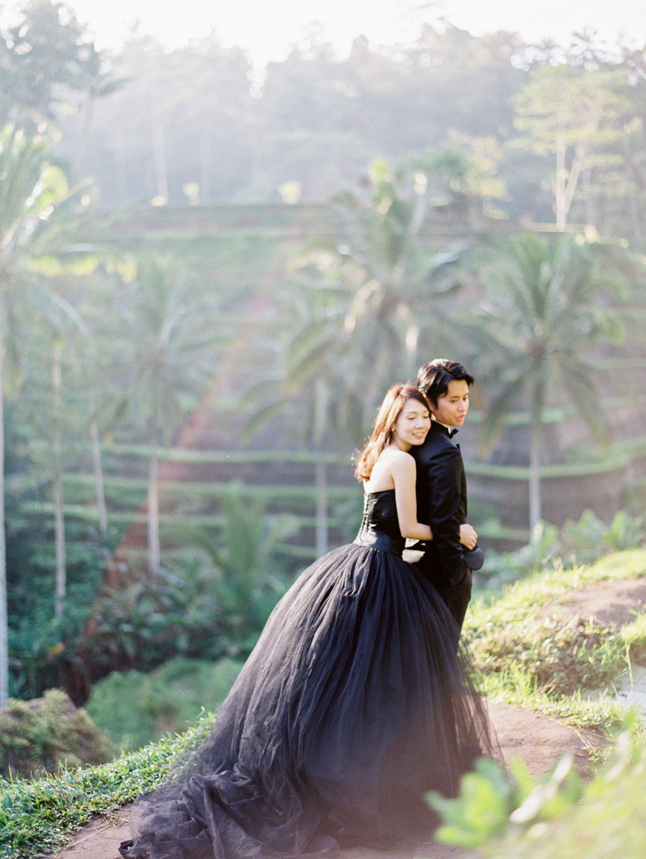 An Elegant Ubud Post Wedding Photo Session 8