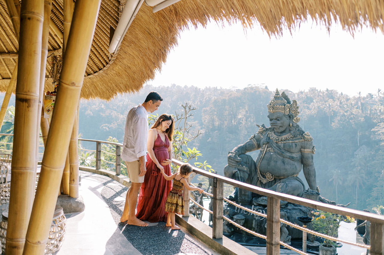 Kayon Jungle Resort Ubud Maternity Photo 6