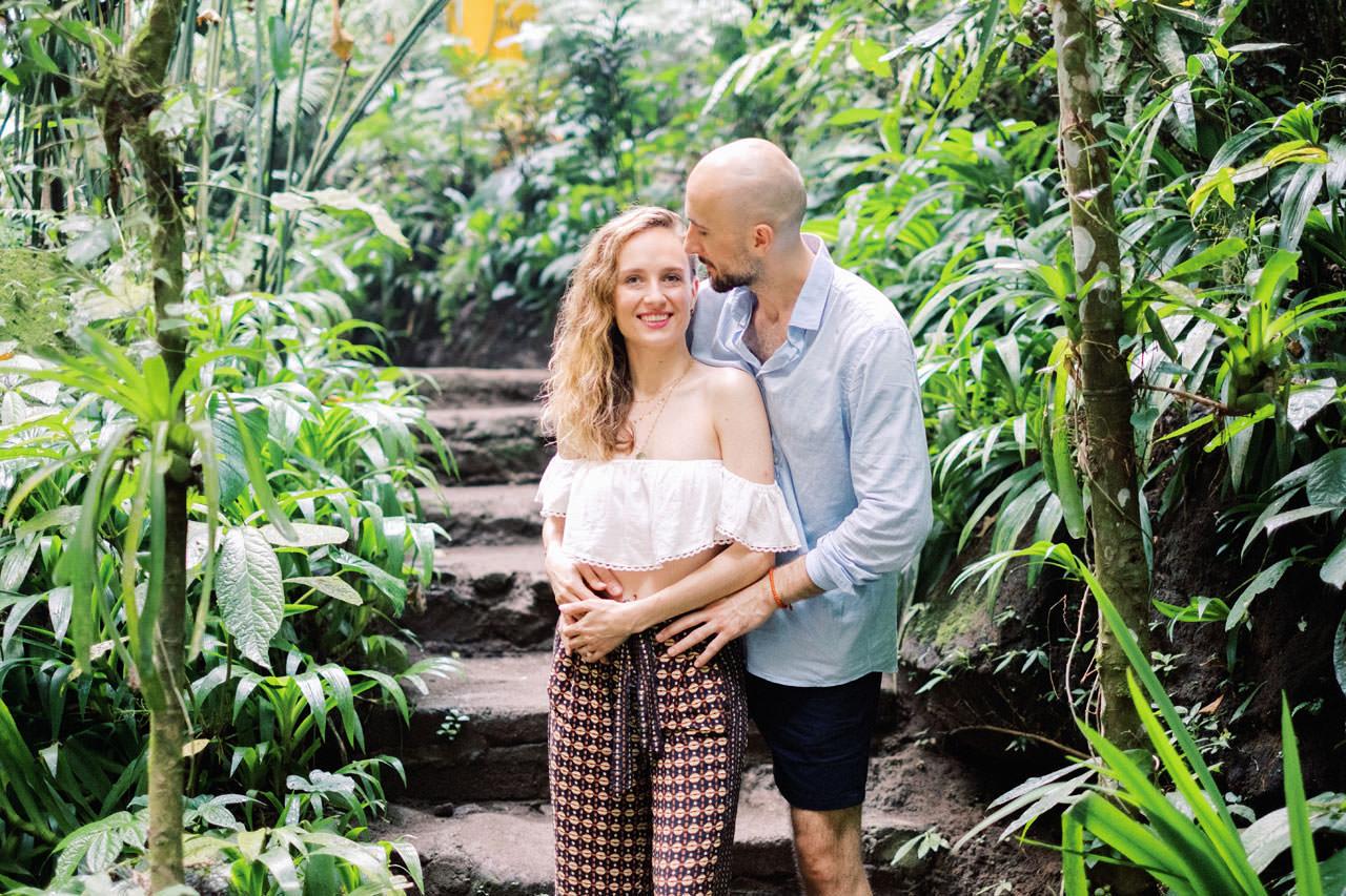 K&M: Tibumana Waterfall Bali Surprise Proposal Photography 6
