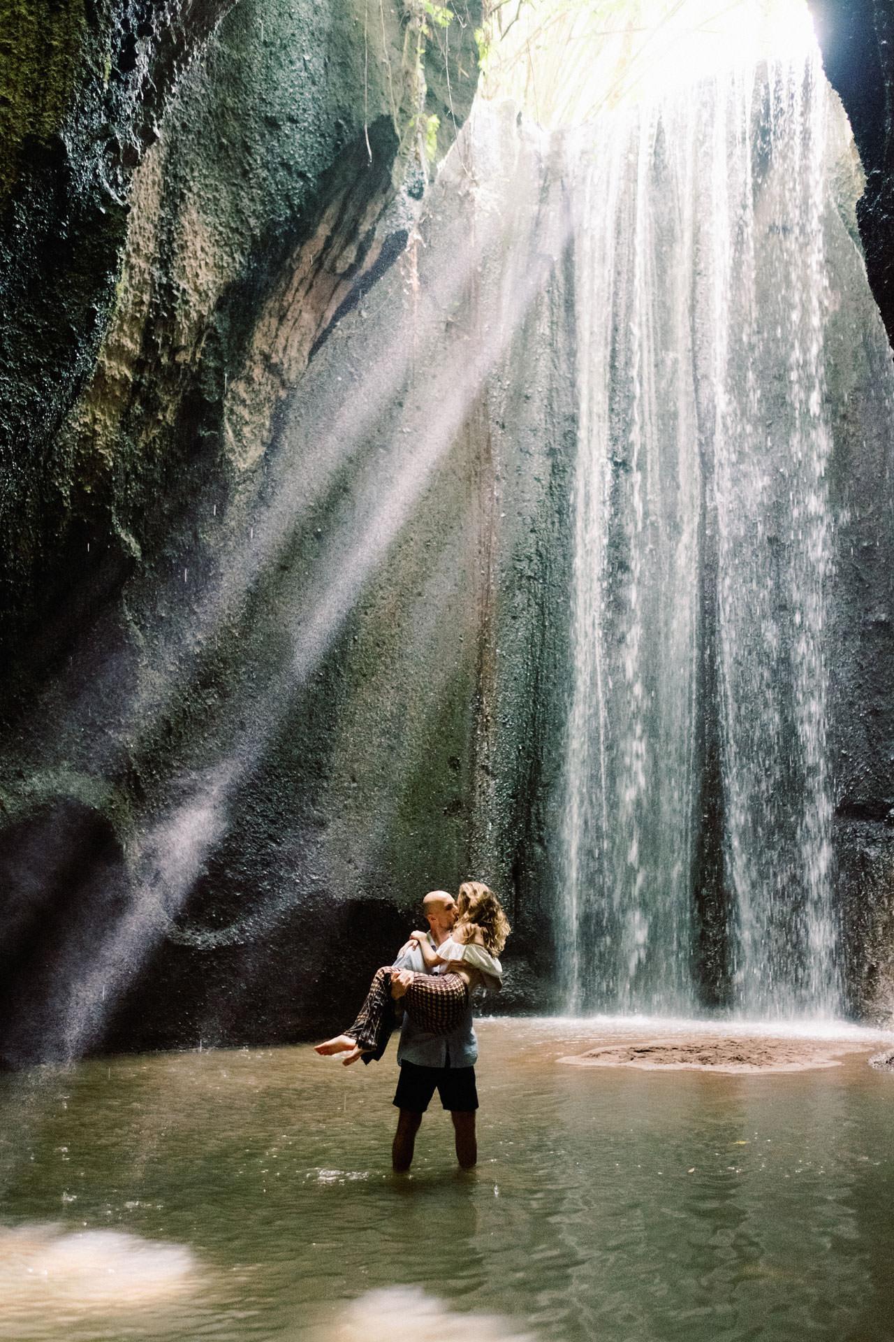 Tukad Cepung Waterfall Engagement