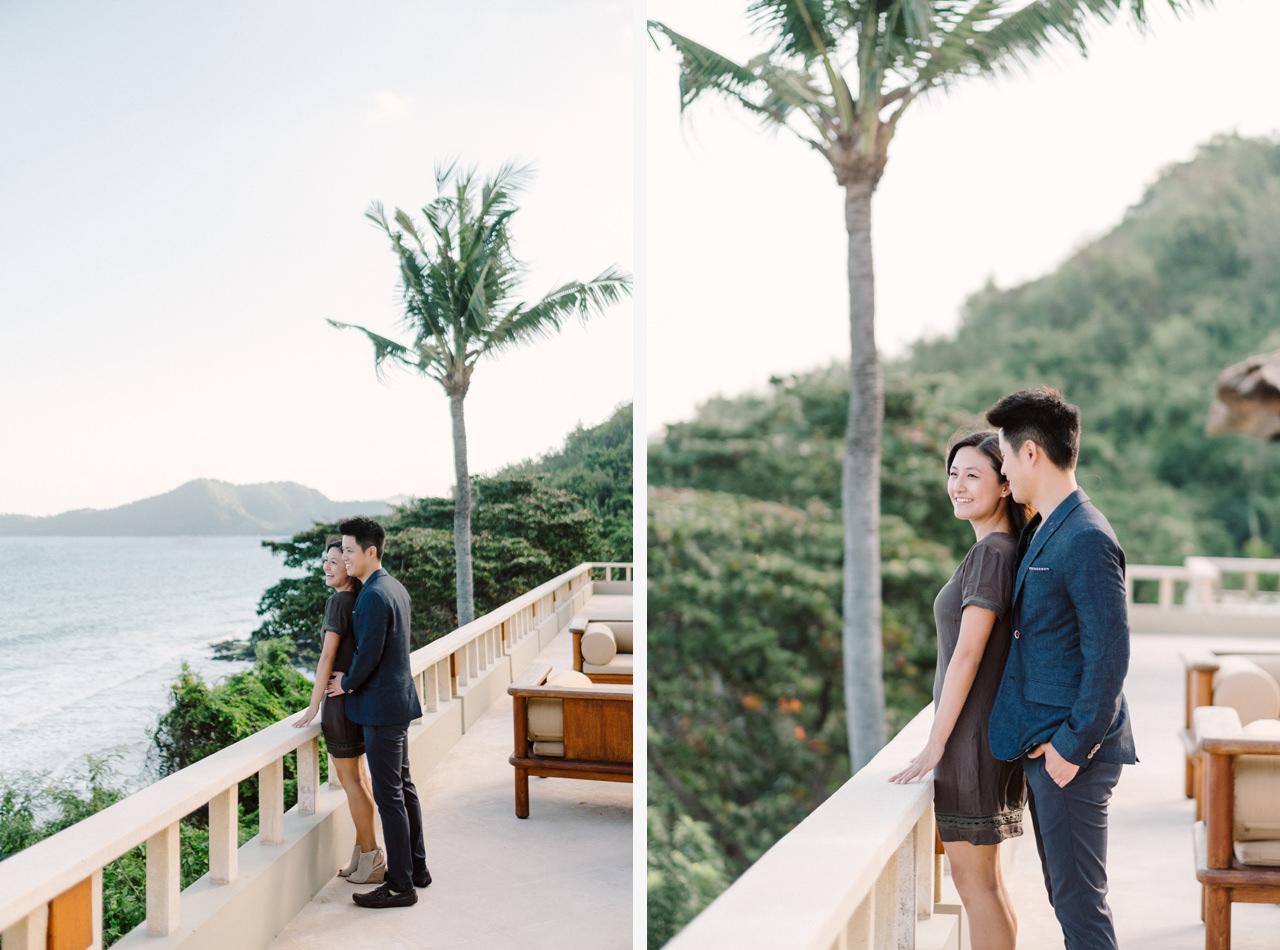 K&R: Romantic Beachside Proposal Photography at Amankila 3