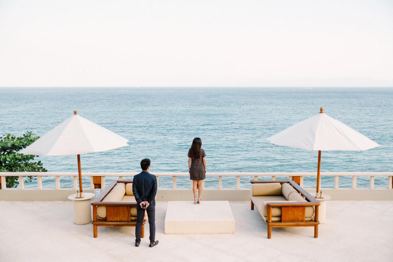 K&R: Romantic Beachside Proposal Photography at Amankila 4