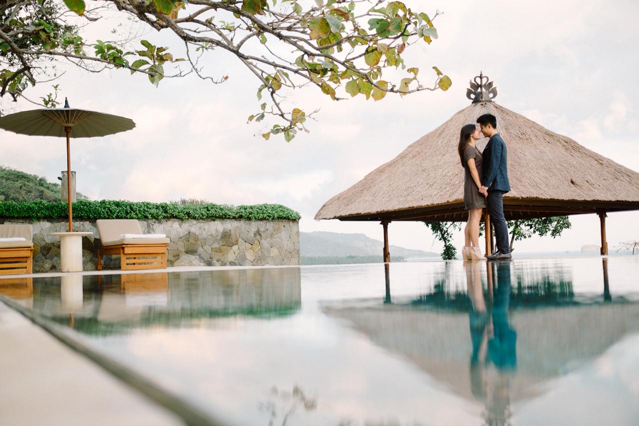 K&R: Romantic Beachside Proposal Photography at Amankila 11