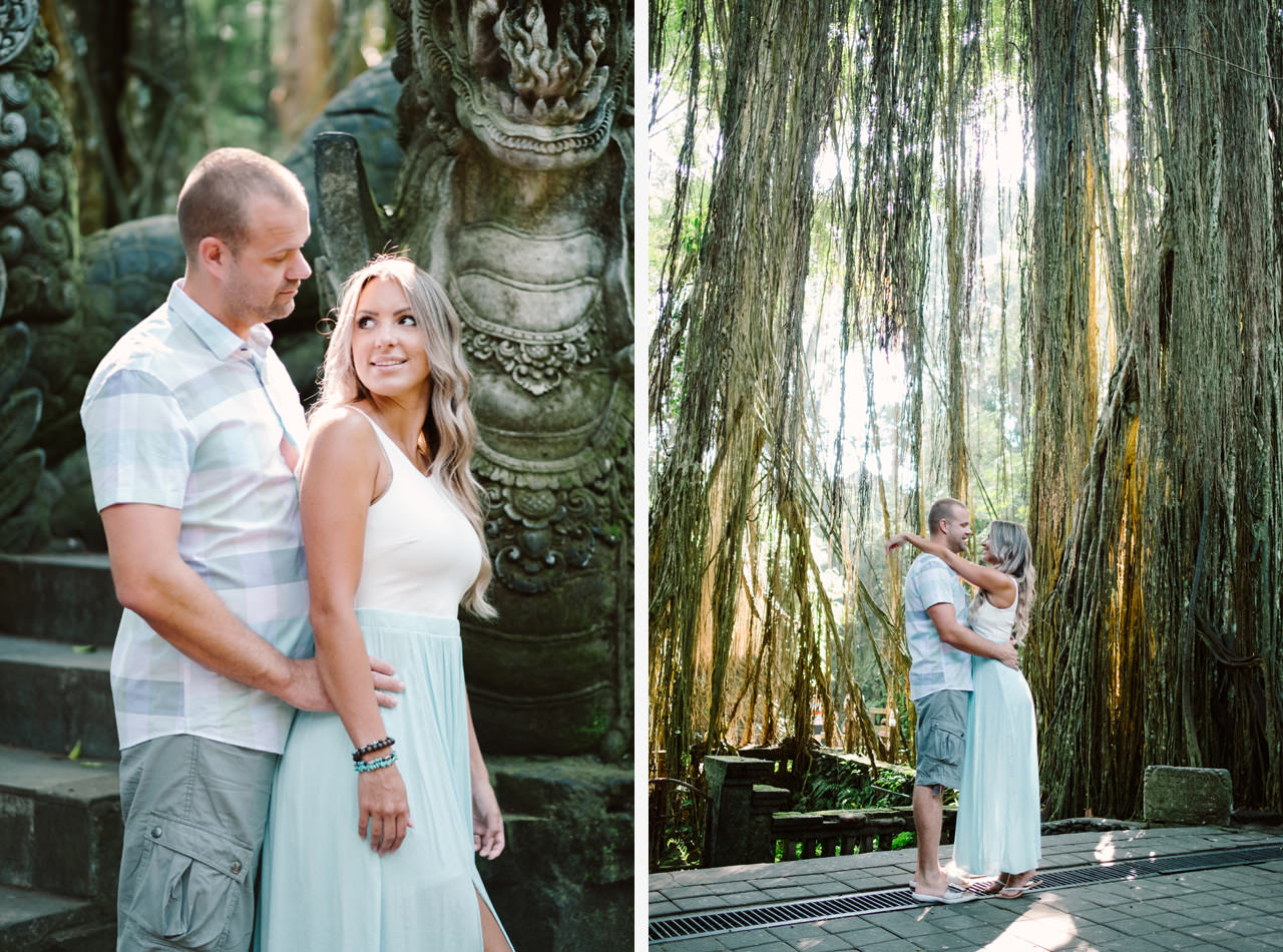 L&C: Adventurous Bali Honeymoon Photo at Monkey Forest 2