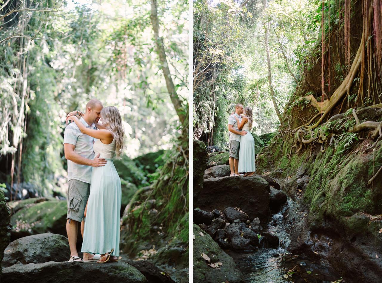 L&C: Adventurous Bali Honeymoon Photo at Monkey Forest 4