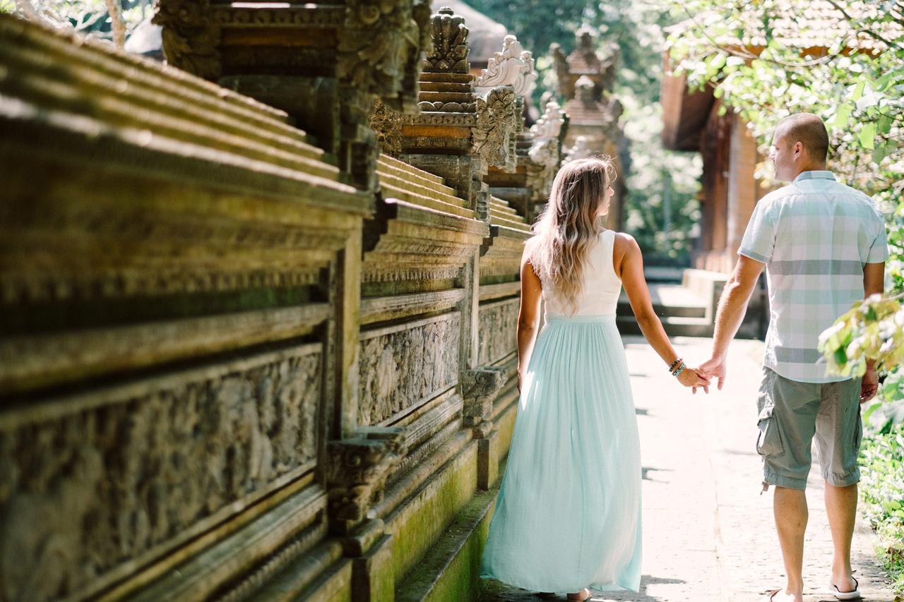 L&C: Adventurous Bali Honeymoon Photo at Monkey Forest 11