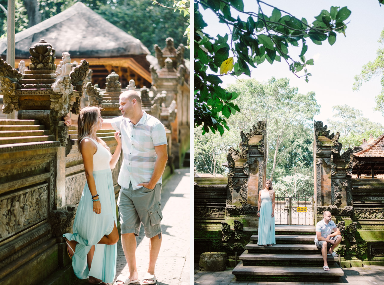 L&C: Adventurous Bali Honeymoon Photo at Monkey Forest 12
