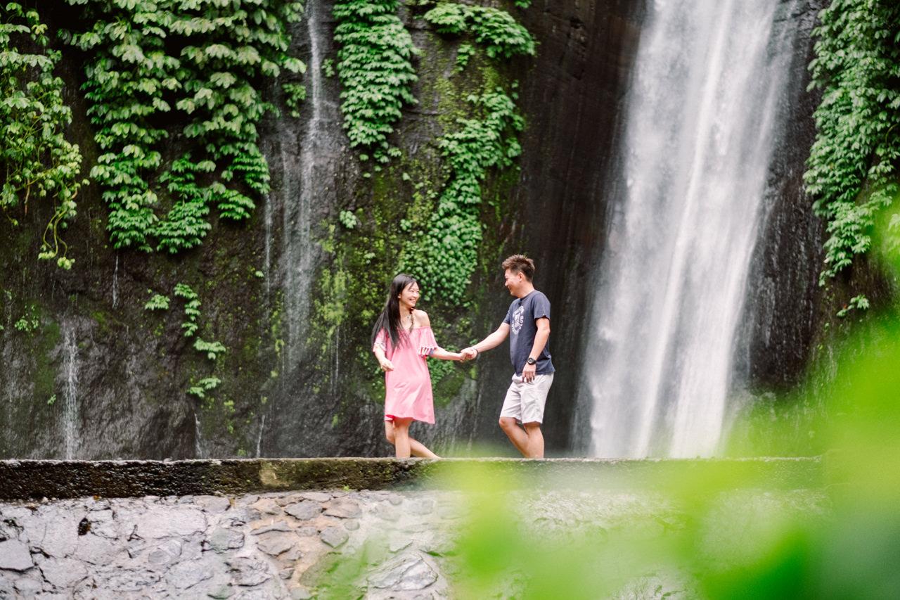 L&D: Bali Post-Wedding Photography at Tamblingan Lake 9