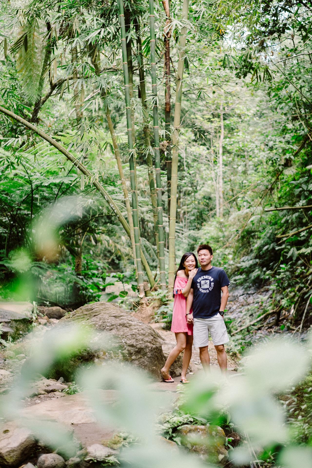 L&D: Bali Post-Wedding Photography at Tamblingan Lake 11