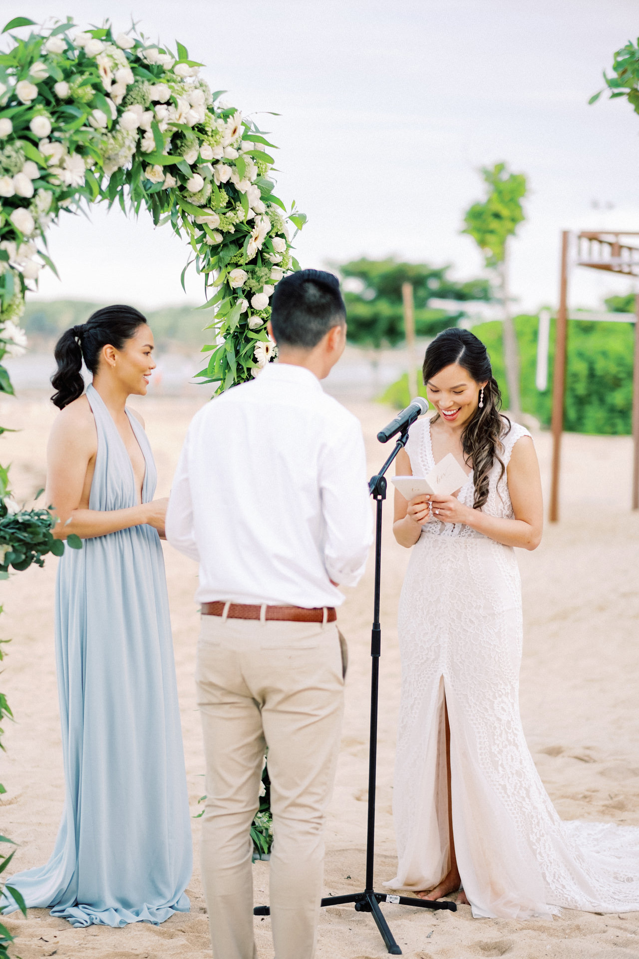 L&E: Beachside Sofitel Bali Wedding 26