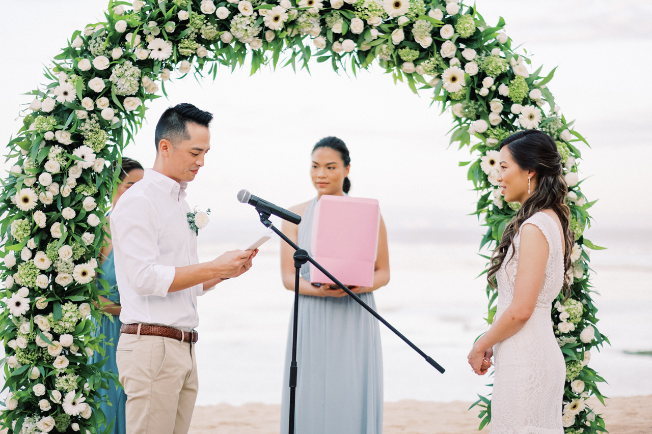 L&E: Beachside Sofitel Bali Wedding 28