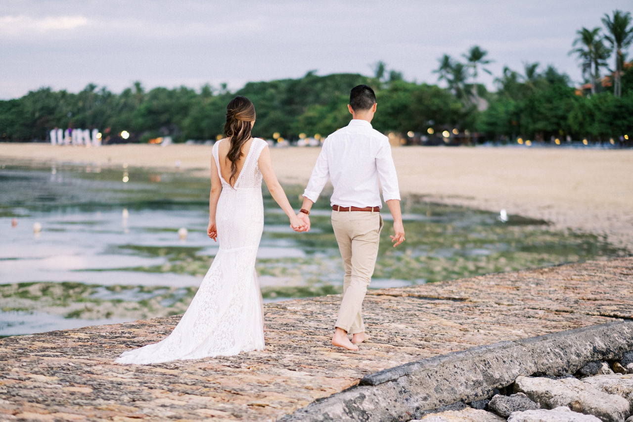 L&E: Beachside Sofitel Bali Wedding 39
