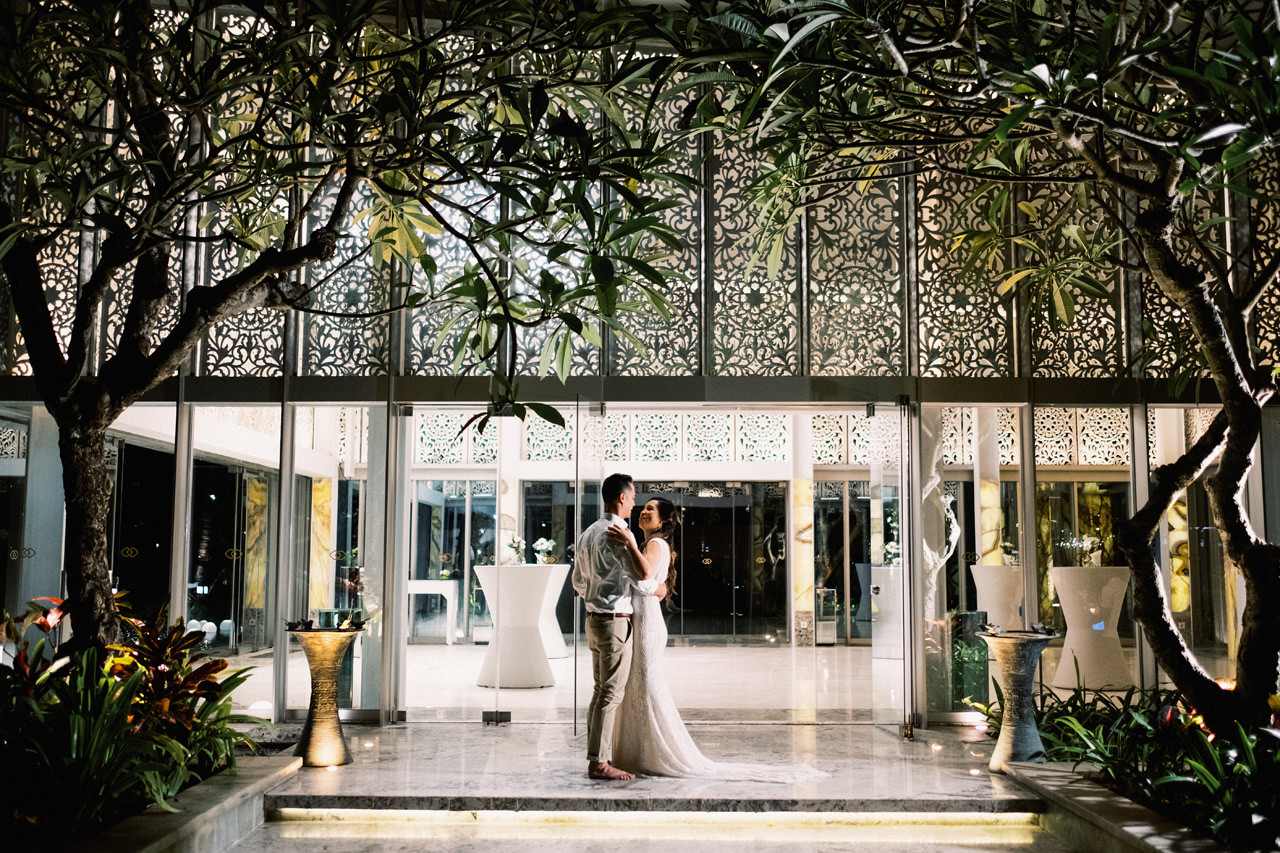 L&E: Beachside Sofitel Bali Wedding 46
