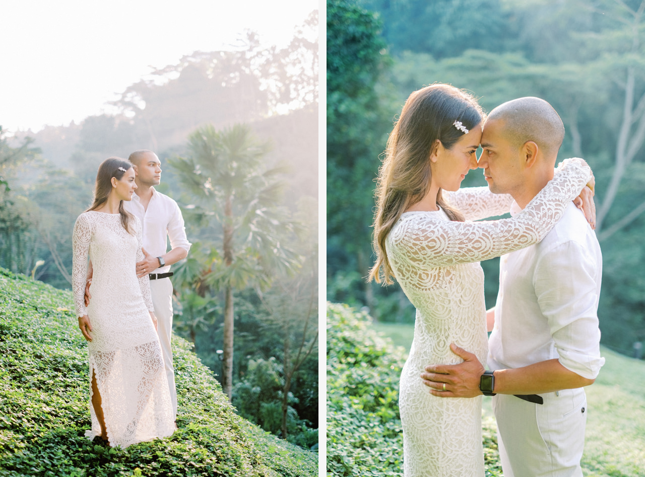 J&L: Intimate Ubud Post Wedding Photography Capture by Team 3