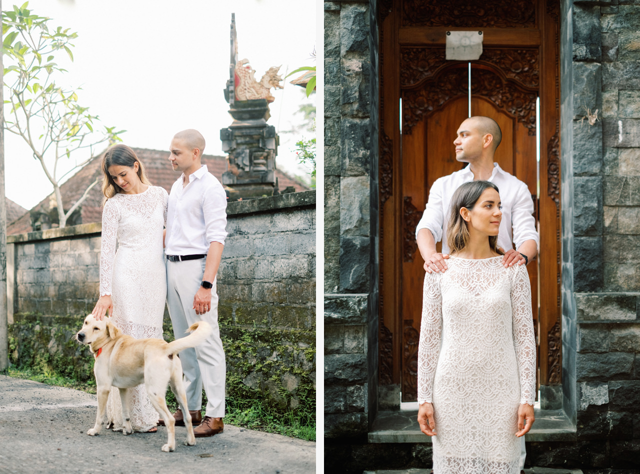 J&L: Intimate Ubud Post Wedding Photography Capture by Team 11