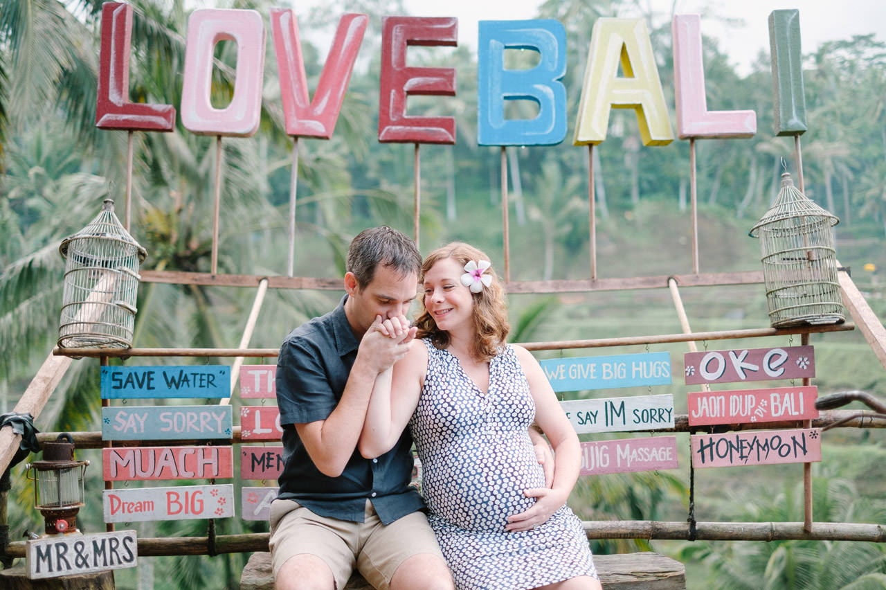 Elizabeth & Jeff: Maternity Photography in Ubud Bali 2