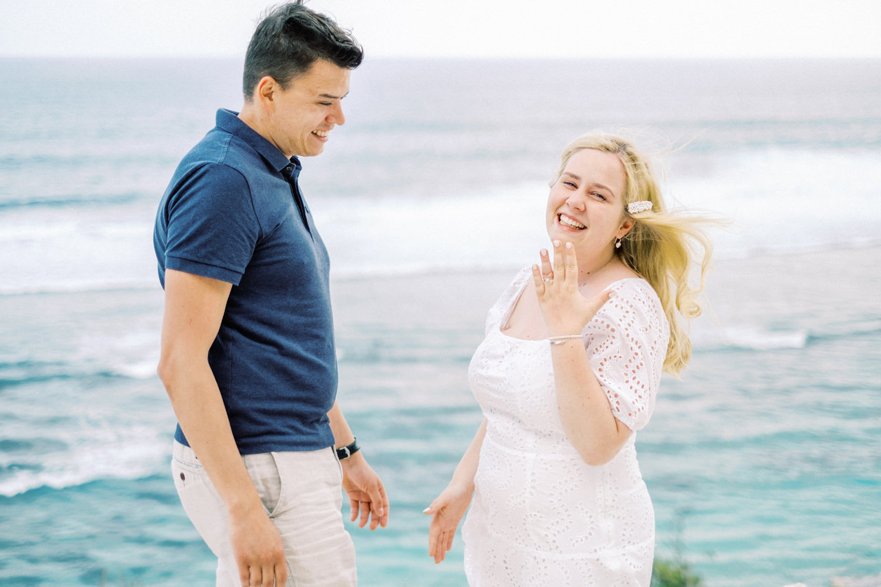 M&L: Surprise Proposal Photography in Bali11
