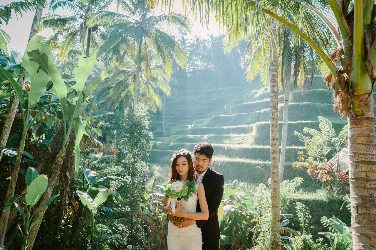Ledy & Wungsu: Sunrise Prewedding Photography in Ubud Bali 12