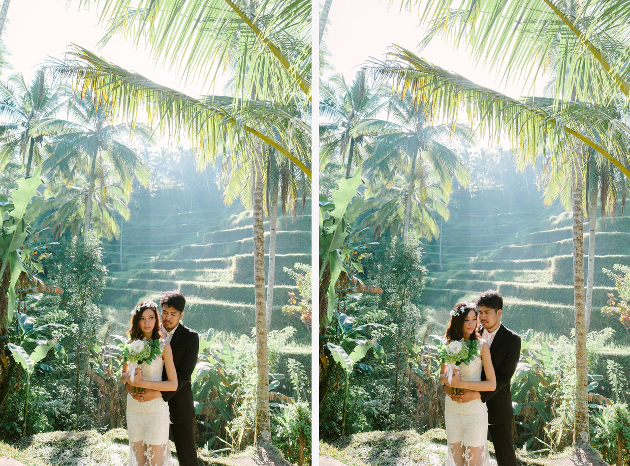 Ledy & Wungsu: Sunrise Prewedding Photography in Ubud Bali 13