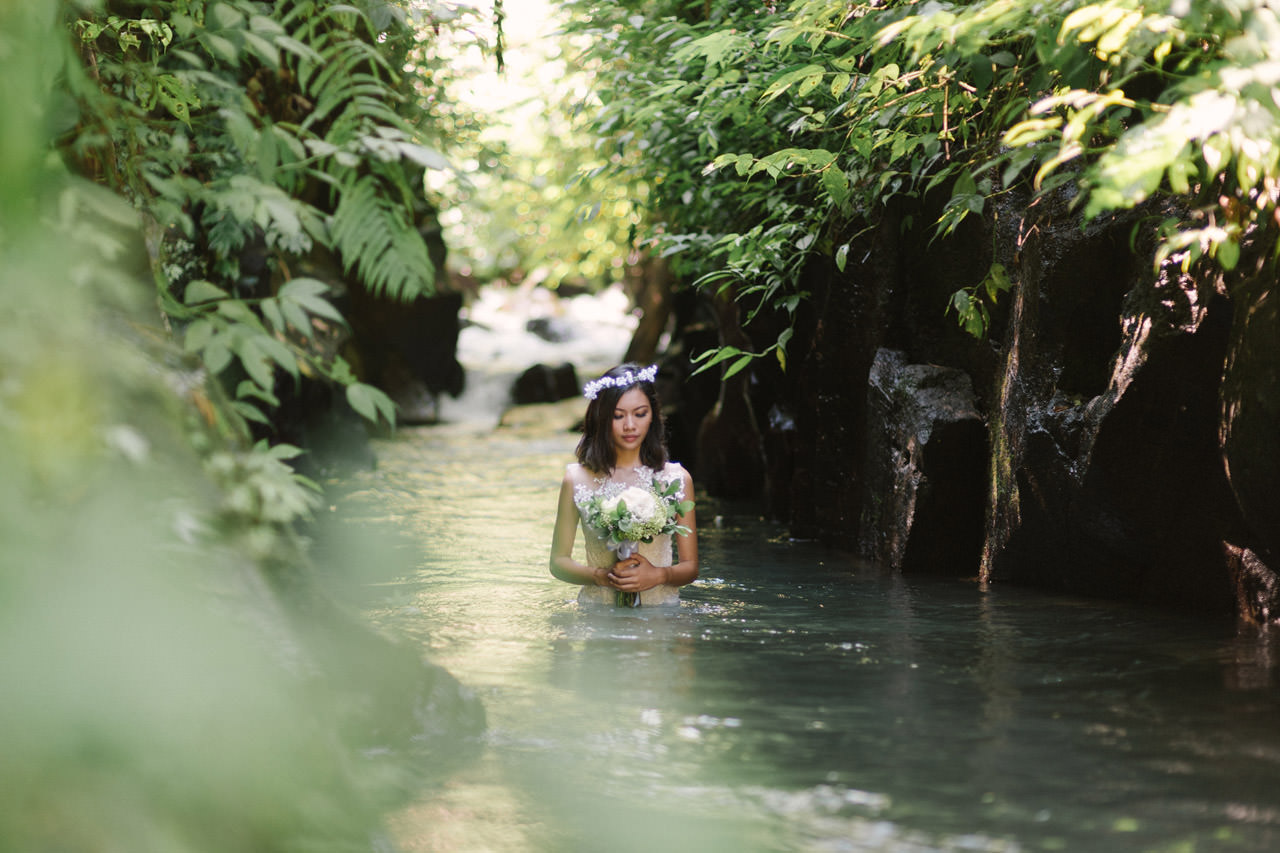 Ledy & Wungsu: Sunrise Prewedding Photography in Ubud Bali 17